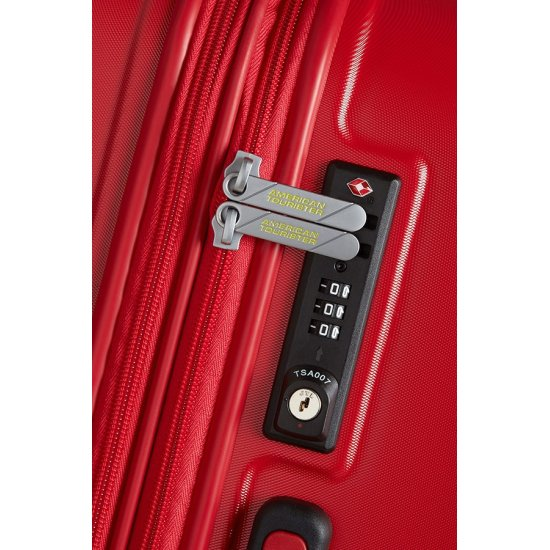 Air Force 1 4-wheel 66cm Exp. Spinner suitcase Flame Red