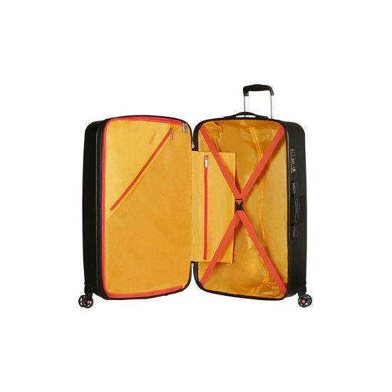 Air Force 1 4-wheel 66cm Exp. Spinner suitcase Black
