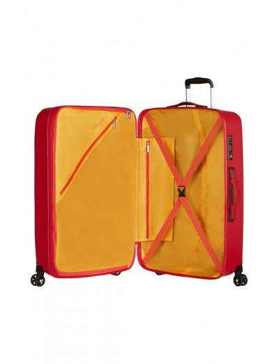 Air Force 1 4-wheel 81cm large Spinner suitcase Flame Red - Product Comparison