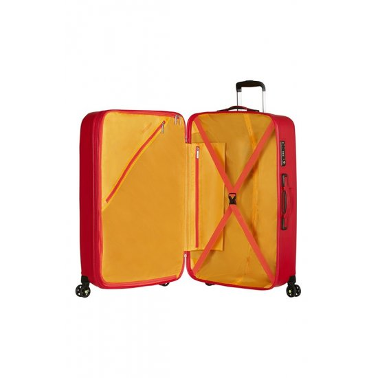 Air Force 1 4-wheel 81cm large Spinner suitcase Flame Red