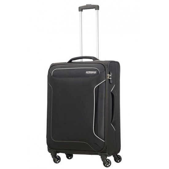 Holiday Heat 4-wheel cabin baggage Spinner 67cm Black