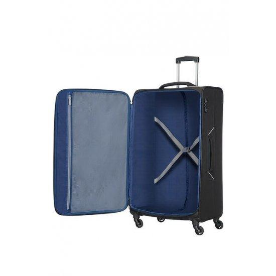 Holiday Heat 4-wheel cabin baggage Spinner 79 cm Black