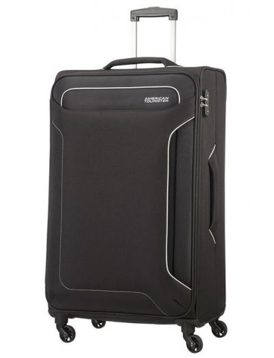 Holiday Heat 4-wheel cabin baggage Spinner 79 cm Black - Softside collection