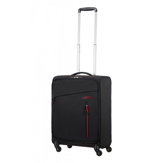 Litewing 4-wheel Spinner suitcase 55cm Volcanic Black