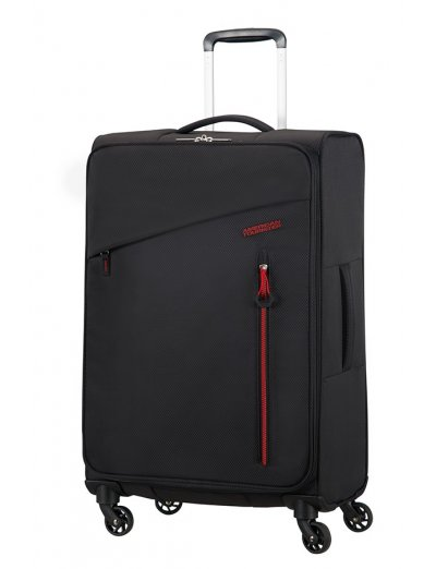 Litewing 4-wheel Spinner suitcase 70cm Volcanic Black - Product Comparison