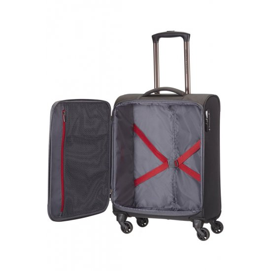 American Tourister Spinner on 4 wheels Ocean Grove 55 cm. Black