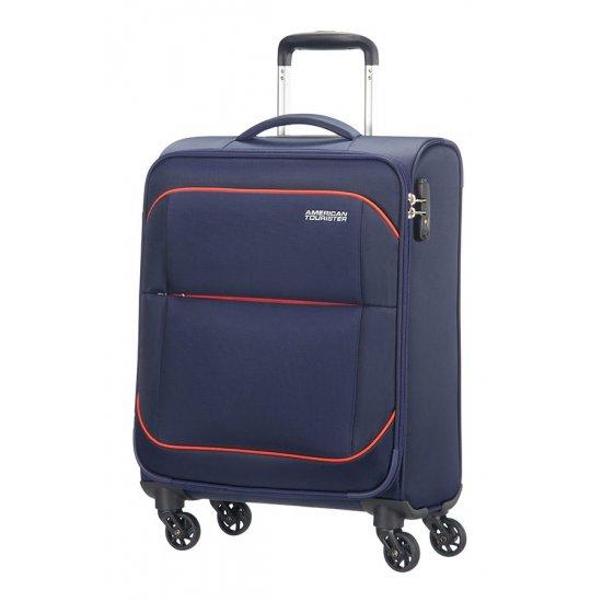 Sunbeam 4-wheel 55cm Spinner suitcase Blue