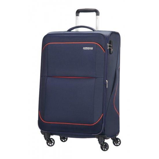 Sunbeam 4-wheel 69cm Spinner Expandable suitcase Blue