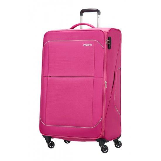Sunbeam 4-wheel 79cm large Spinner Expandable suitcase Summer Rose