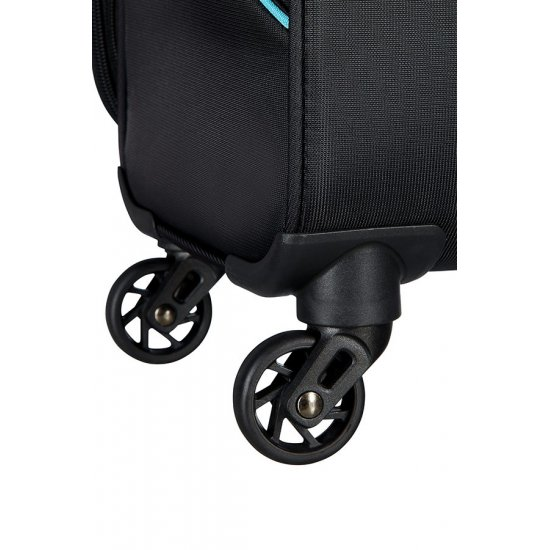 Sunbeam 4-wheel 69cm Spinner Expandable suitcase Black
