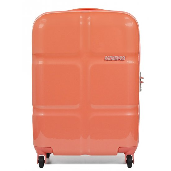 American Tourister Spinner 4 wheels Supersize 55 cm Coral color