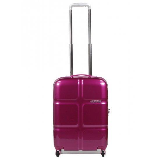 American Tourister спинер на 4 колела Supersize 55см в лилав цвят