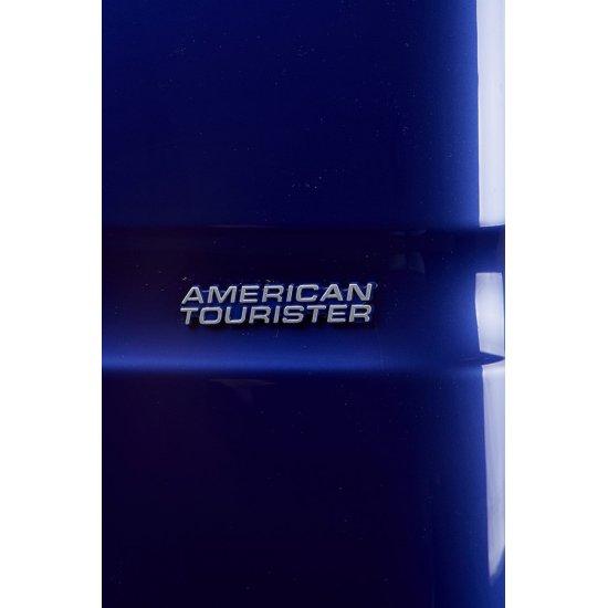 American Tourister спинер на 4 колела Supersize 68см в тъмно син цвят