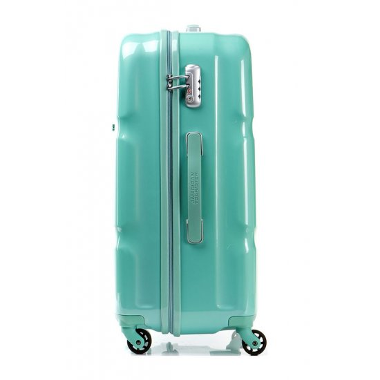 American Tourister Spinner 4 wheels Supersize 68 cm Green