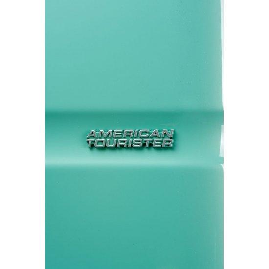 American Tourister спинер на 4 колела Supersize 79см в зелен цвят