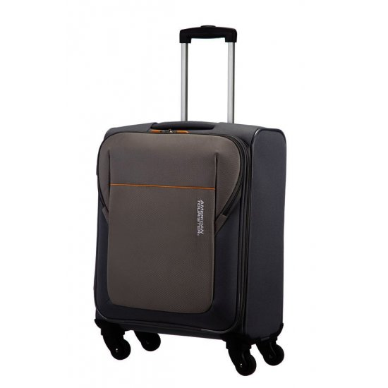 San Francisco 4-wheel cabin baggage Spinner suitcase 55x40x20cm Grey