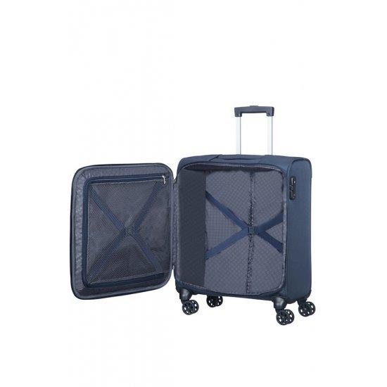 Summer Voyag 4-wheel suitcase 56 cm Navy Blue