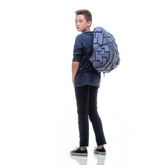"""AmericanKids Backpack """"Blok Full Colors Wild Blue Yonder"""" Available after 18.09.2017"""
