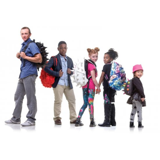 """AmericanKids Backpack """"Bubble Full Surfaces Double Bubble"""" Available after 18.09.2017"""