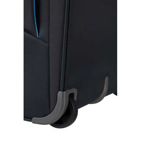Pikes Peak 2-wheel cabin baggage Upright Expandable suitcase 55 см