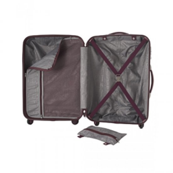 AT Prismo лилав спинер за ръчен багаж, 55 см