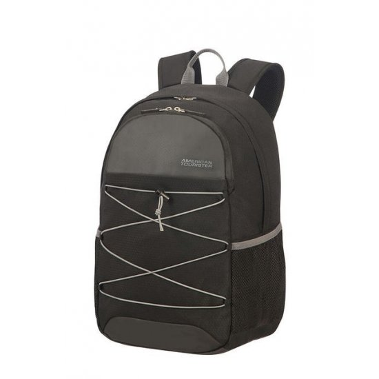 Road Quest Laptop Backpack 15.6inch Black/Grey
