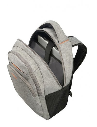 At Work Laptop Backpack 39.6cm/15.6″ Cool Grey - Product Comparison