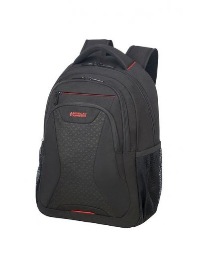 At Work Laptop Backpack 39.6cm/15.6″ Black Print - Product Comparison