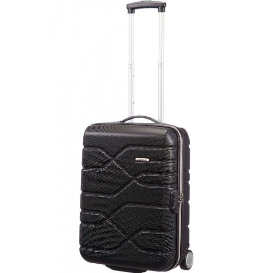 AT Сет от 2 броя куфари Houston City, черен цвят