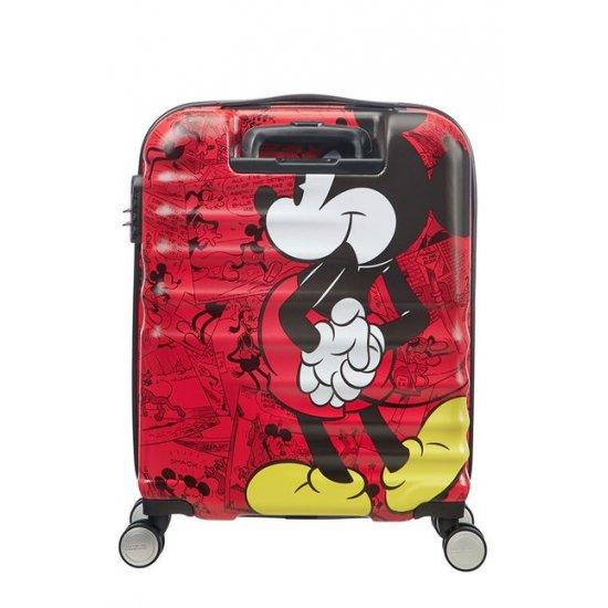 АТ 4-wheel 55cm Spinner suitcase Wavebreaker Mickey Comics Red