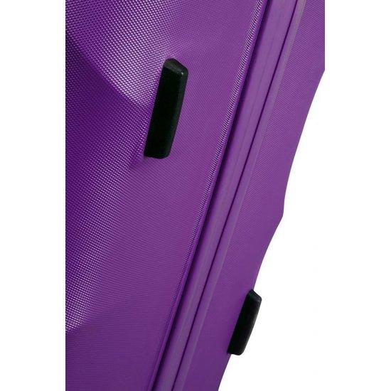 Crystal Glow 4-wheel cabin baggage Spinner suitcase