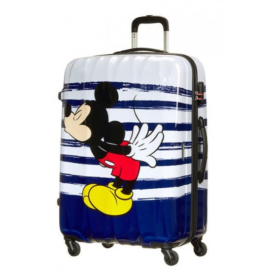 AT Spinner 4 wheels Disney Legends 75 cm Mickey Kiss