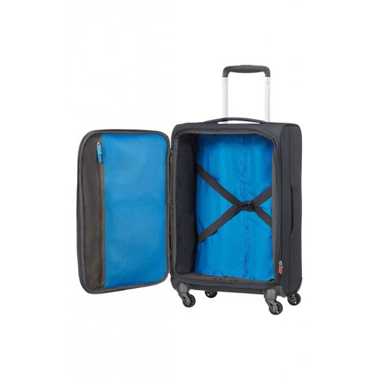 Lightway 4-wheel cabin baggage Spinner Expandable suitcase 55cm