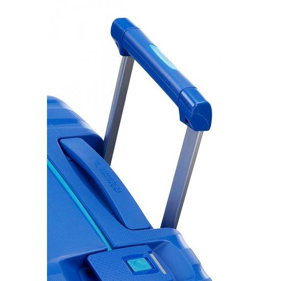 Lock'N'Roll 4-wheel Spinner suitcase 55cm Skydiver Blue