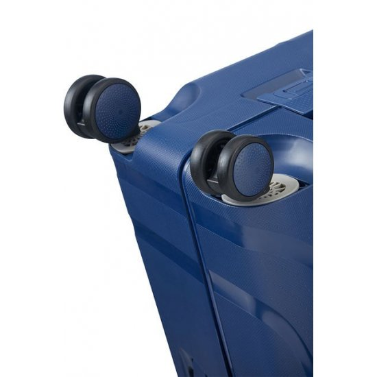 Lock'N'Roll 4-wheel Spinner suitcase 69cm Nocturne Blue