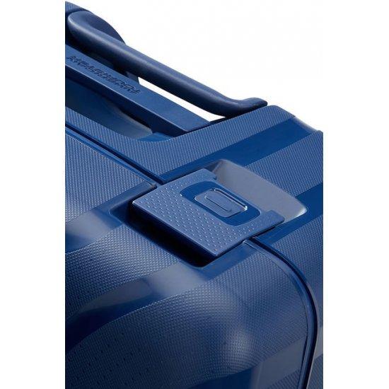 Lock'N'Roll 4-wheel Spinner suitcase 75cm Nocturne Blue