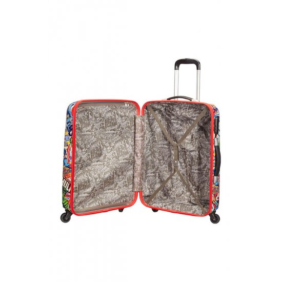 Marvel 4-wheel 75cm large Spinner suitcase Marvel Comics