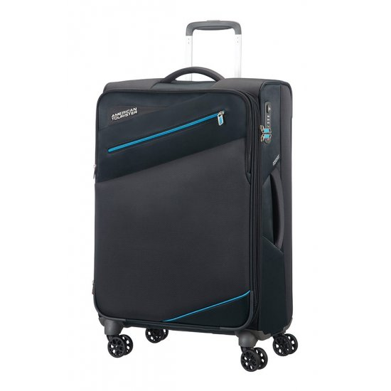 Pikes Peak 4-wheel 68cm medium Spinner Expandable suitcase