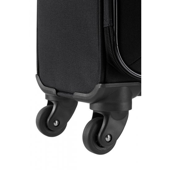 San Francisco 4-wheel 67cm medium Spinner suitcase Black