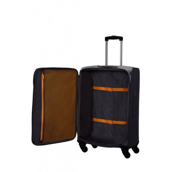 San Francisco 4-wheel 67cm medium Spinner suitcase Grey