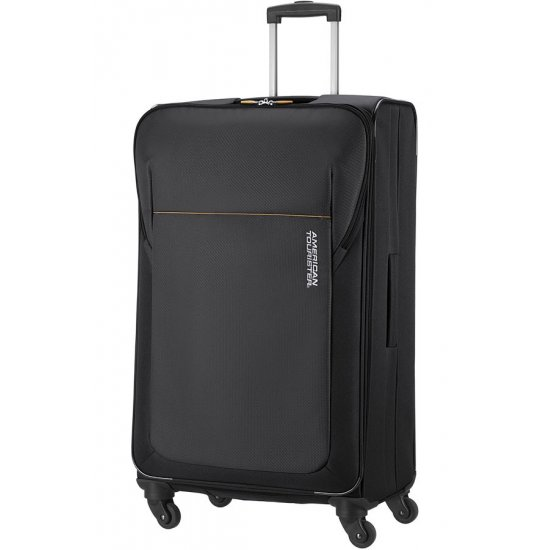 San Francisco 4-wheel 79cm large Spinner suitcase Black