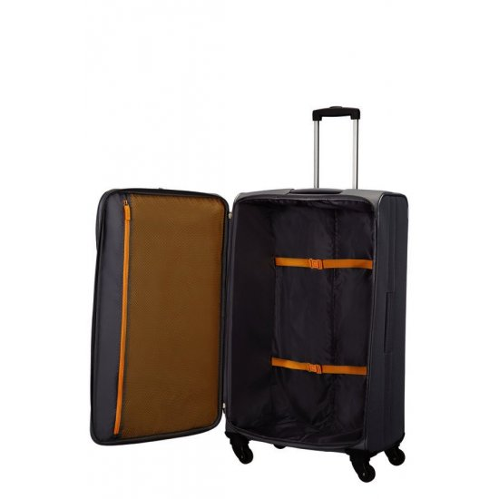 San Francisco 4-wheel 79cm large Spinner suitcase Grey