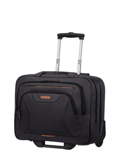 At Work Rolling Tote 39.6cm/15.6″ Black - Product Comparison