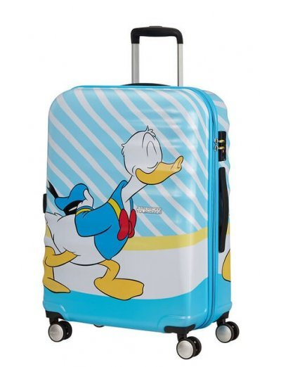 АТ 4-wheel 67cm Spinner suitcase Wavebreaker DONALD BLUE KISS - Hardside collection