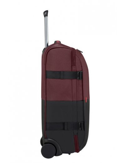 Rythum Duffle with wheels 55cm Burgundy - Product Comparison