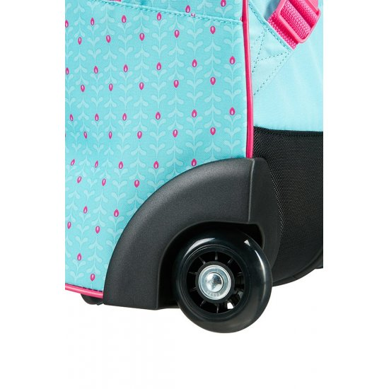 New Wonder Backpack with Wheels Frozen Magic