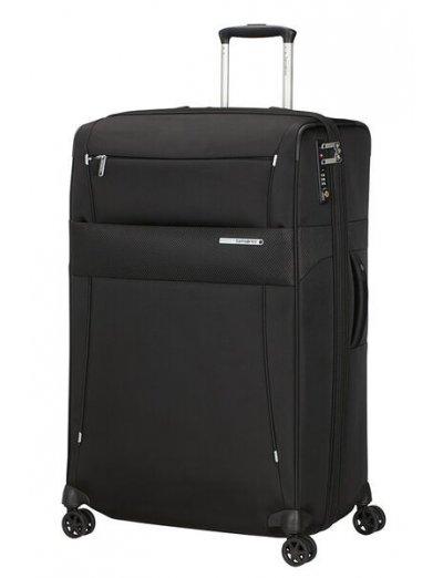 Duopack Spinner Expandable (4 wheels) 78 cm Black - Duopack