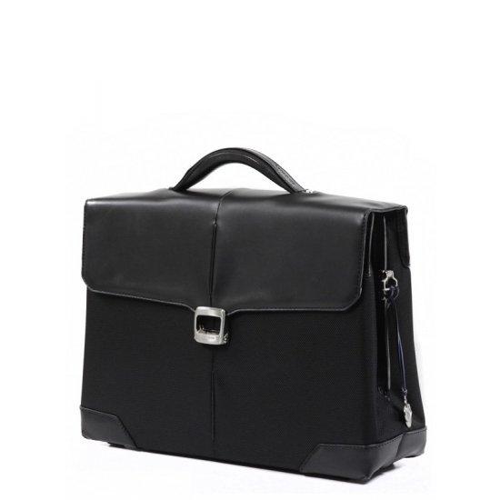 Бизнес чанта с 1 преграда S-Oulite за 15,4 инча лаптоп черен цвят