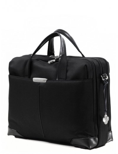 Business Laptop bag with 3 gussets  S-Oulite 15.6 - Full leather bags