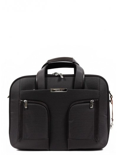Business briefcase Expandable S-Teem for 15.6 - Men's leather bags